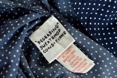 A cry for help on a Primark label? Apparently not, the retailer says
