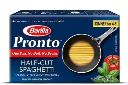 "Barilla Pronto will ""make mealtime more convenient"", pasta giant said"
