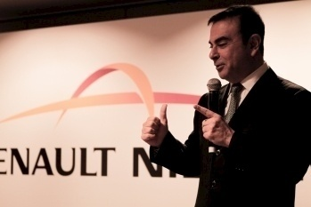 Renault-Nissan CEO Carlos Ghosn wants both Alliance companies to be at the forefront of the introduction of autonomous drive technologies to the market