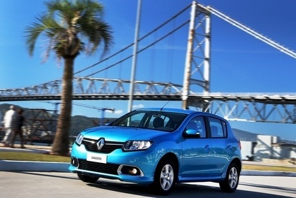 Renault sees emerging markets continuing to slow. Updated Sandero  has just been launched in Brazil