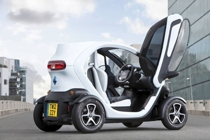 Horses for courses: Twizy is safer than a motorcycle, according to Euro NCAP, which recommends ordering all safety options