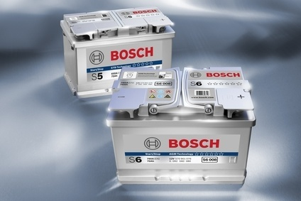 Bosch provides batteries designed specifically for vehicles featuring start-stop systems.