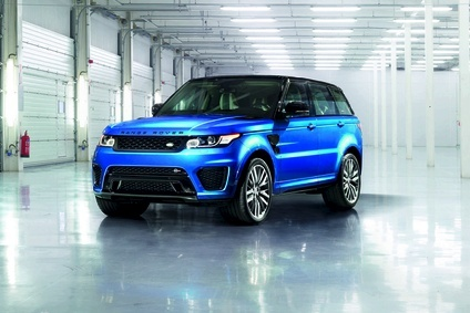 Range Rover Sport SVR is the fastest Land Rover yet