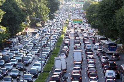 Traffic Jam Gallery | Ride To Work:: |Sao Paulo Brazil Traffic