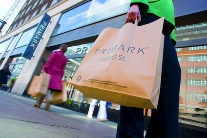 Primark increased its year-on-year selling space by 1m sq ft in the quarter