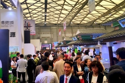 A packed hall at SIAL China 2015