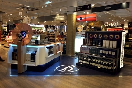 The Ballantines Blending Experience at Charles De Gaulle airport