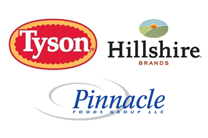 Hillshire had wanted to buy Pinnacle but has backed sale of itself to Tyson Foods