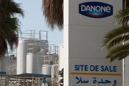 Danone played down reports of strategic revamp