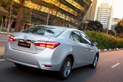 Toyota makes the Corolla (photo) and Vios in Tianjin