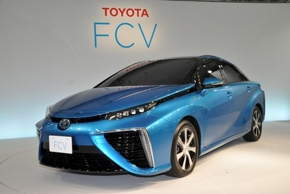 The FCV has been displayed at various global motor shows