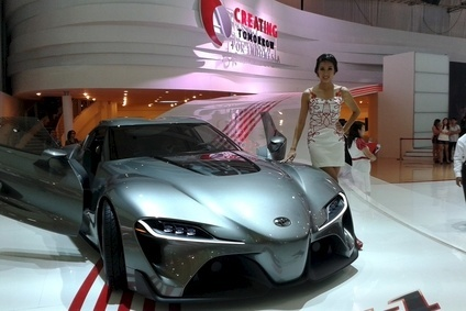 Toyotas FT1 concept is a show highlight