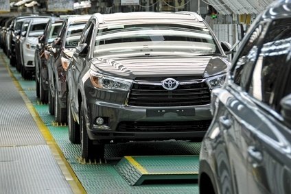 Toyota moved production of its redesigned Highlander [Kluger] for NAFTA, Australasia and some eastern Europe markets to Indiana from Japan earlier this year. Meanwhile, 100,000 units a year of Camry production from Subaru Indiana are moving in house to Georgetown, Kentucky which is also adding previously Japan only Lexus ES sedan output
