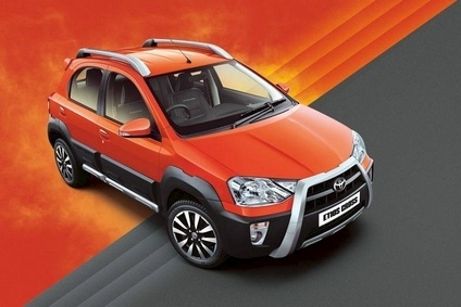 Toyota Indias main product is the Etios built in hatchback, saloon and crossover forms. Export markets include South Africa