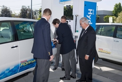 Toyota and Honda cooperated on a hydrogen refuelling station in Torrance, California, near both automakers US HQs