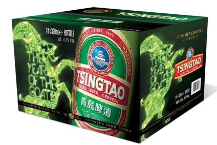 Tsingtaos new packaging taps into Chinese New Year celebrations