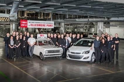 Then and now: first Viva was made on 1 June, 1964; plant now makes Astra for Opel and Vauxhall