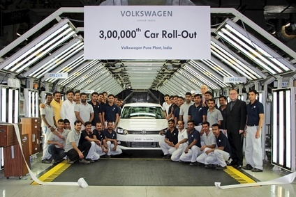 The Pune plant built its 300,000th car in August 2013