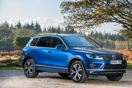 New Touareg has SCR (Selective Catalytic Reduction) engines