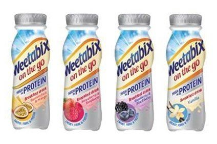 Weetabix has launched a protein version of its On The Go drink