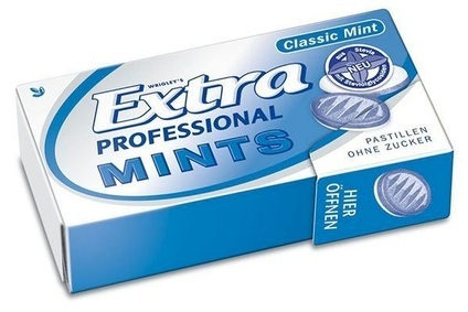 Wrigley rolling out stevia Extra Professional Mints in Europe