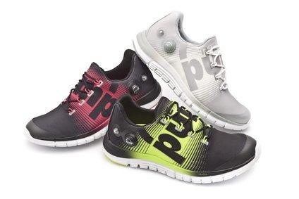 Reebok custom fit running shoe moulds