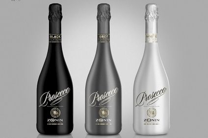 Zonins Prosecco, Black, Grey and White