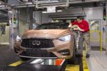 Infiniti Q30 is made at Nissan's Sunderland, UK, plant