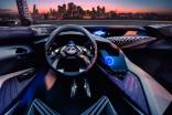 Lexus concept features hologram displays