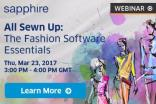 Free to attend webinar - All Sewn Up: The Fashion Software Essentials