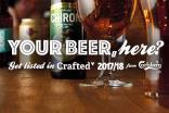 The winning beer will become part of Carlsberg's Crafted 2017 portfolio