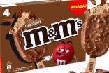 Mars selects France for launch of M&Ms ice cream bars