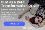 Webinar: PLM as a Retail Transformation Driver - Register now!