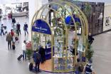 Bacardi recreates Bombay Sapphire glasshouse in Auckland, Schiphol GTR push