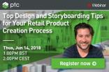 WEBINAR: Top design & storyboarding tips for your retail product creation process