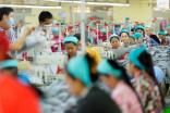 Apparel, footwear, and travel goods account for 80% of Cambodia's total exports