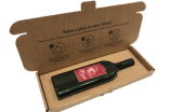 Letterbox-friendly wine bottle hits the UK