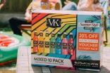 Global Brands' discount for New Look is on ten-packs of mixed VK