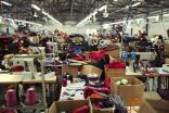 China garment factories slowly resume production