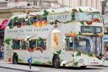 Diageo's Seedlip campaign includes adverts on London buses