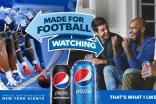 PepsiCo launched a national NFL campaign in the US last month