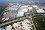 The Beijing Benz joint venture factory assembles multiple Mercedes car and SUV models
