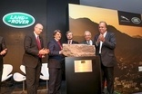Jaguar Land Rover laid the foundation stone for the Brazilian plant last December