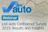 Webinar: just-auto Confidence Survey Webinar On Demand