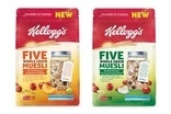 Kellogg rolls out Five Whole Grain Muesli in Australia