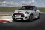 JCW has red slash across its grille and extra air intakes