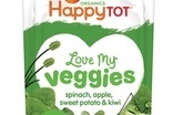 Danones Happy Family launches organic veg pouches