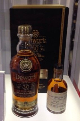 Bacardis new Dewars Scotch whisky is on show in Singapore