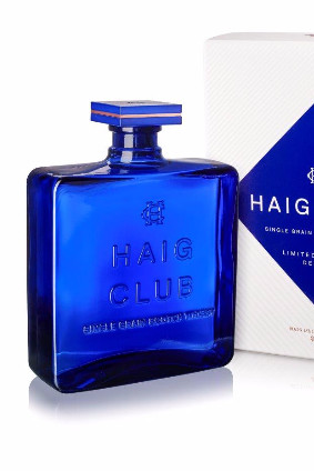 Diageos new Haig Club bottle is designed to look like a decanter