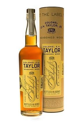 Colonel E H Taylor Jr Seasoned Wood whiskey